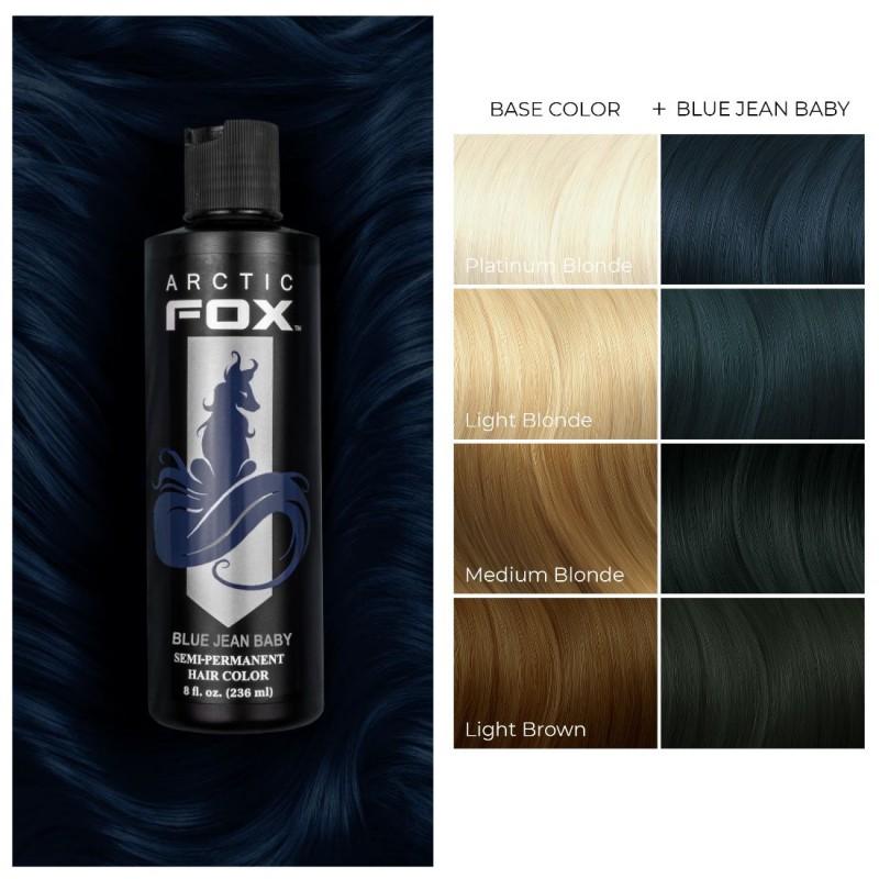 Синяя краска для волос - Blue Jean Baby -  Arctic Fox