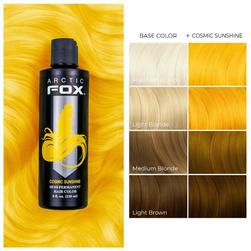 Желтая краска для волос - Cosmic Sunshine -  Arctic Fox