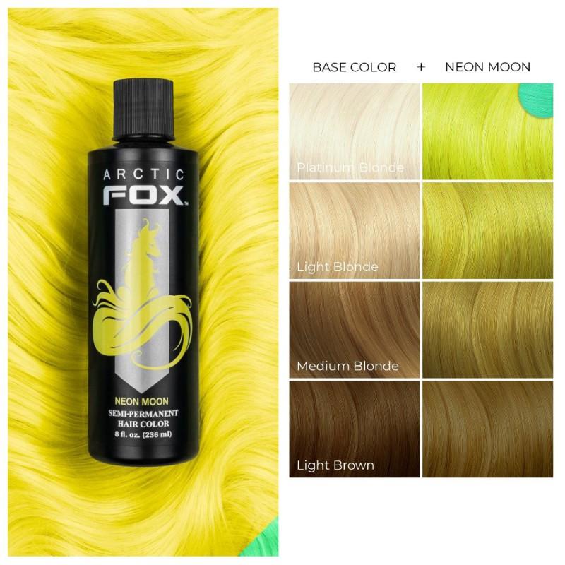 Желтая краска для волос - Neon Moon -  Arctic Fox