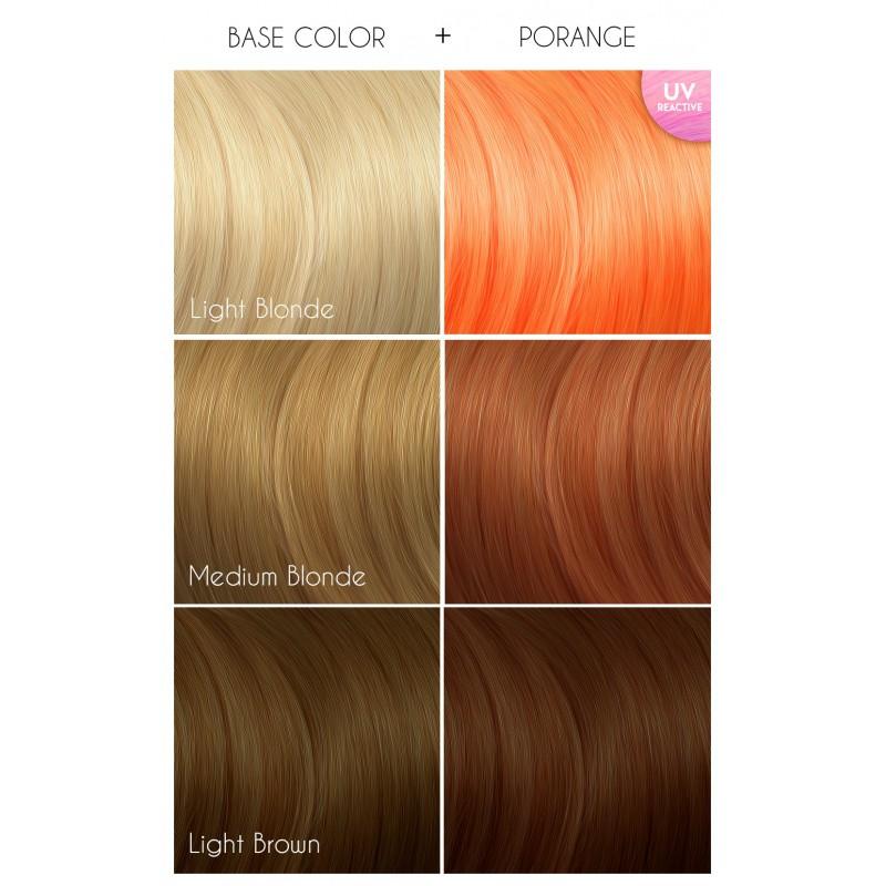 Оранжевая краска для волос - Porange -  Arctic Fox