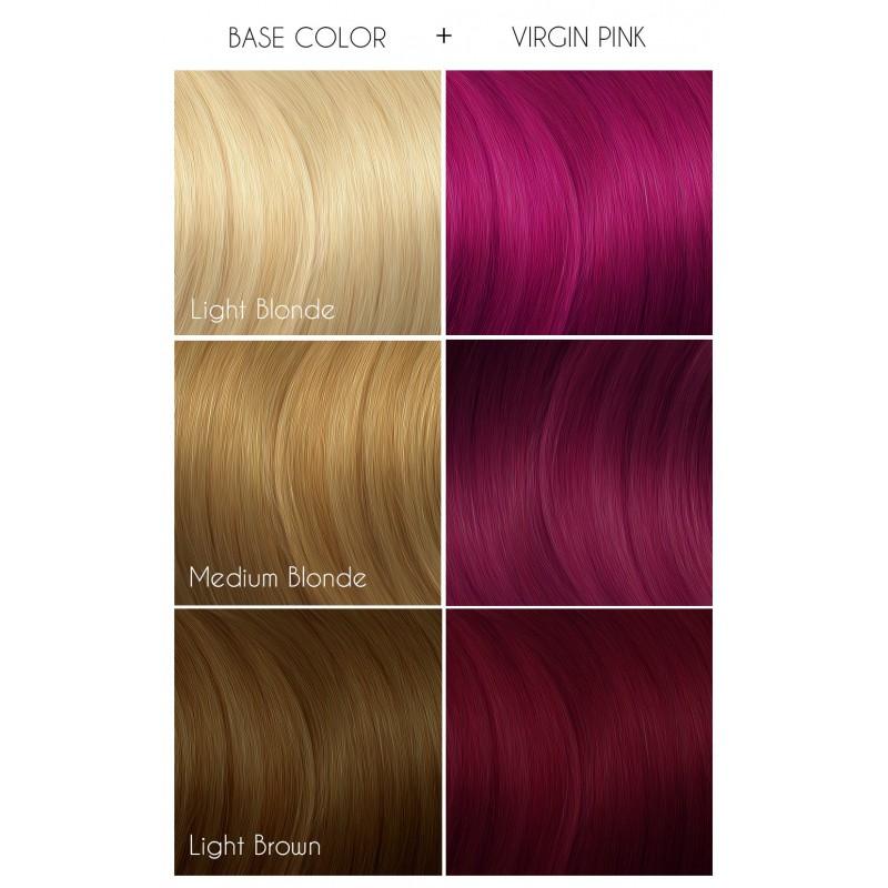 Розовая краска для волос - Virgin Pink -  Arctic Fox