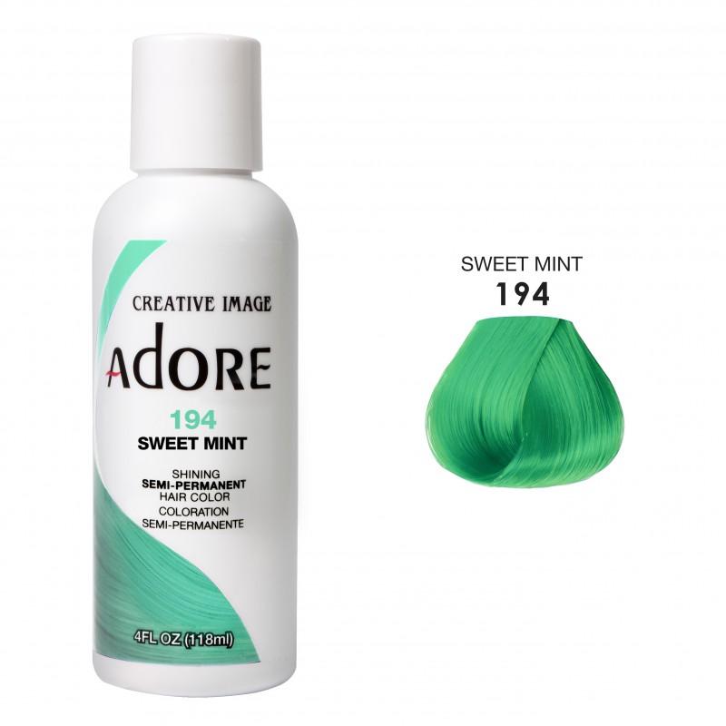 Краска для волос - Adore Dye - Sweet Mint