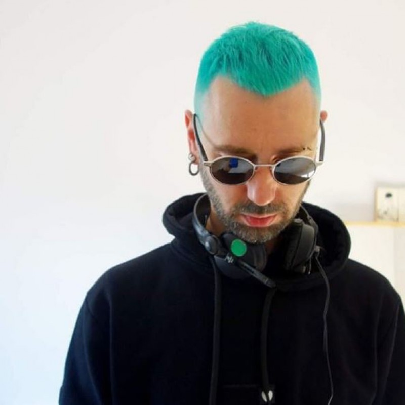 Бирюзовая краска для волос Turquoise - Directions