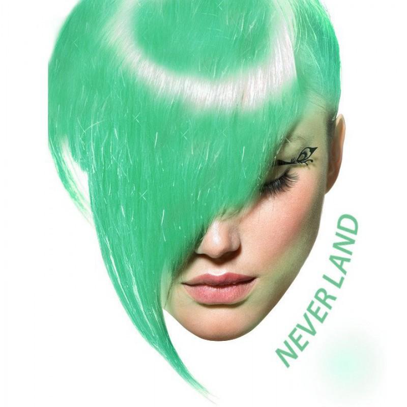 Зеленая краска для волос - Neverland -  Arctic Fox