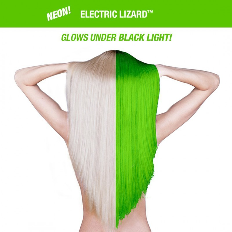 Усиленная краска для волос Electric Lizard™ Amplified™ Squeeze Bottle - Manic Panic