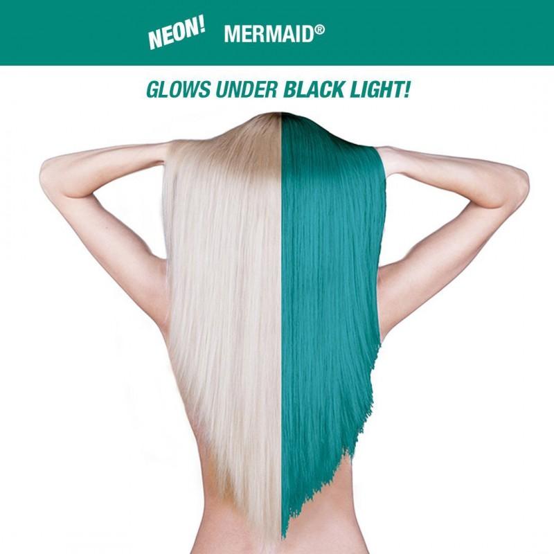 Бирюзовая краска для волос MERMAID CLASSIC HAIR DYE - Manic Panic