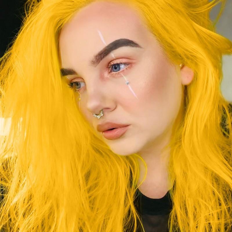 Желтая краска для волос SUNSHINE CLASSIC HAIR DYE  - Manic Panic