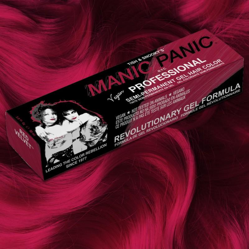 Профессиональная краска для волос Red Velvet™ - Manic Panic Professional