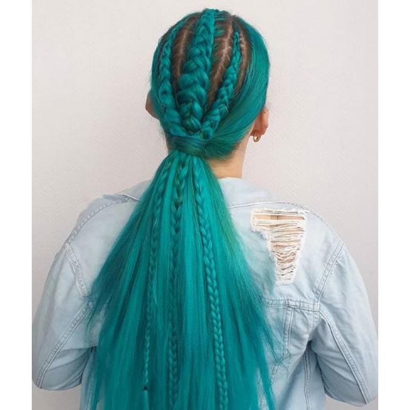 Бирюзовая краска для волос Unitones 280ml - Aqua Turquoise - Большая туба