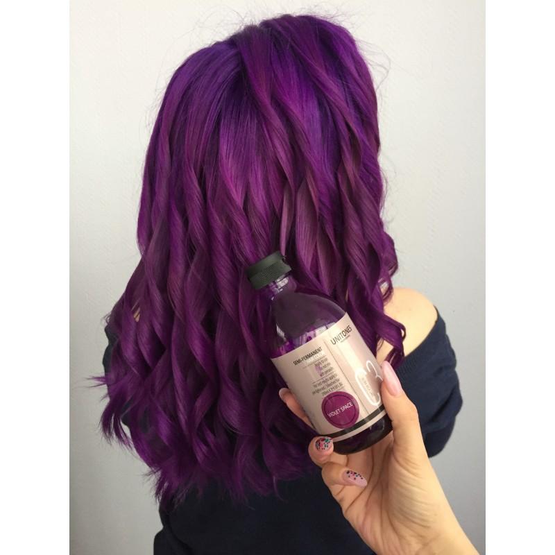 Фиолетовая краска для волос Unitones - Violet Space