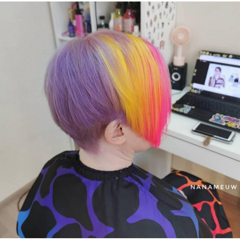 Желтая краска для волос Unitones 280ml - Mango - Большая туба