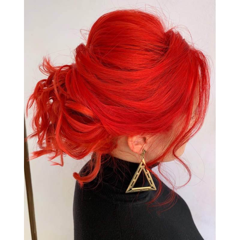 Красная краска для волос Unitones 280ml - Magnetic Red - Большая туба